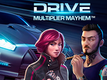 Игровой автомат Drive: Multiplier Mayhem — гонки и призы онлайн